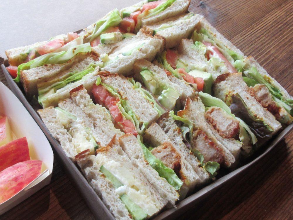 野菜サンドイッチ盛合せ